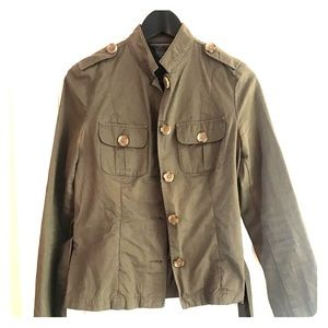 Banana Republic lightweight military jacket